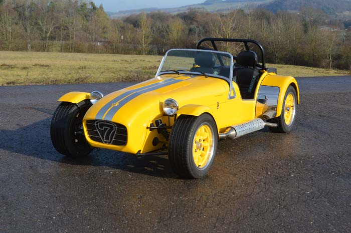 "Caterham 1.6 Supersport ""Yellow Striker"""