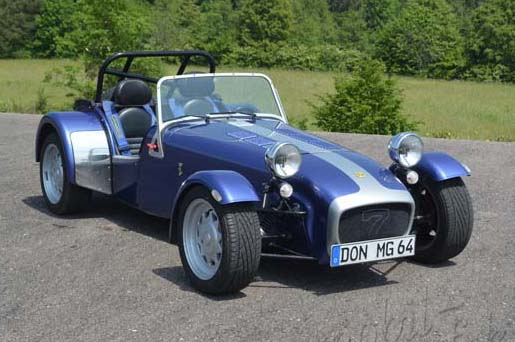 "Caterham VVC ""The Blue Talon"""