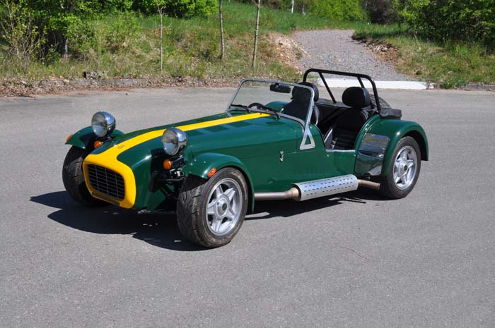 "Caterham Roadsport ""The Green Earl"""