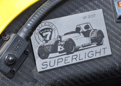"Caterham Superlight 1.6 ""The Yellow Sting"""