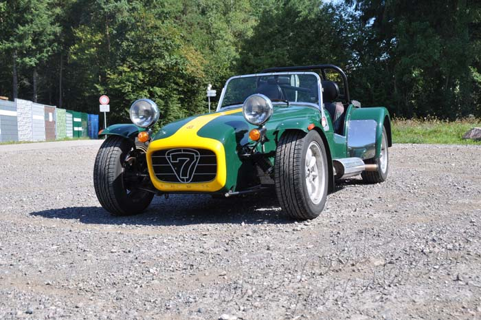 "Caterham 1.8 Supersport ""The Green Hornet"""