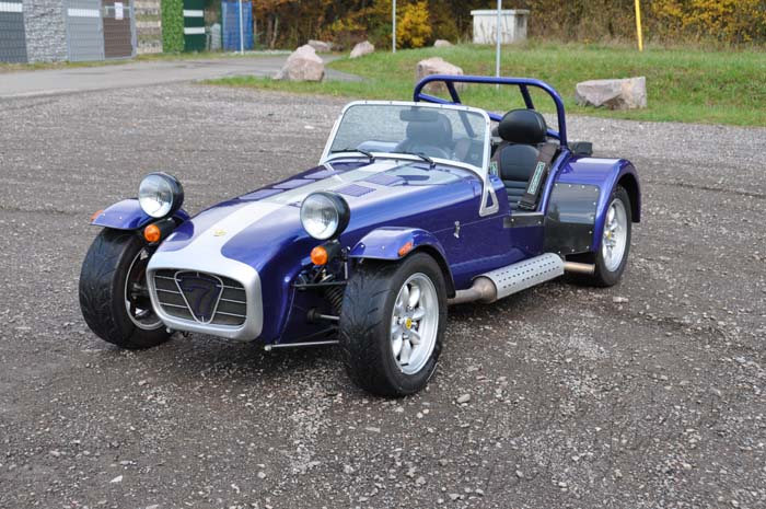 "Caterham 1.6 Roadsport ""Blue Thunder"""