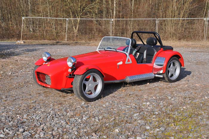 "Caterham 1.8 Supersport XPR ""The Red Rebel"""