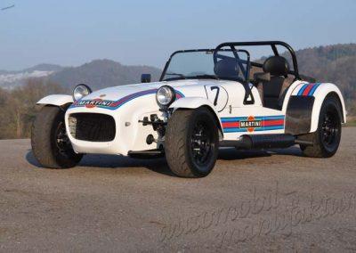 "Caterham Supersport ""Martini-Racing"" LINKSLENKER"
