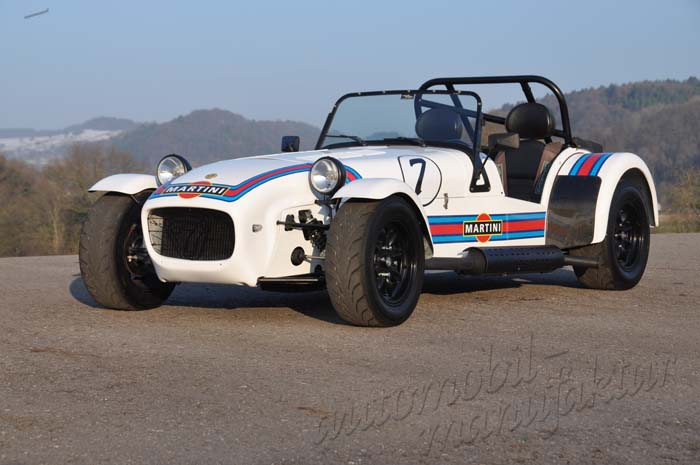 "Caterham Supersport ""Martini-Racing"" LINKSLENKER"