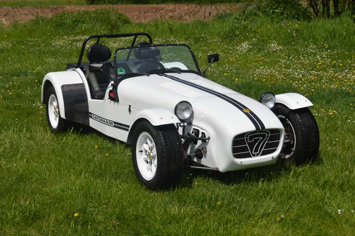 "Caterham 1.6 Roadsport ""The White Cat"""