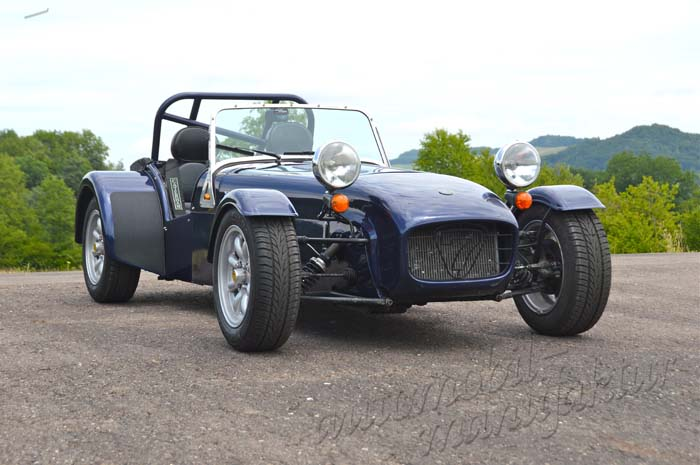 "Caterham 1.8 Roadsport ""The Blue Dragon"""