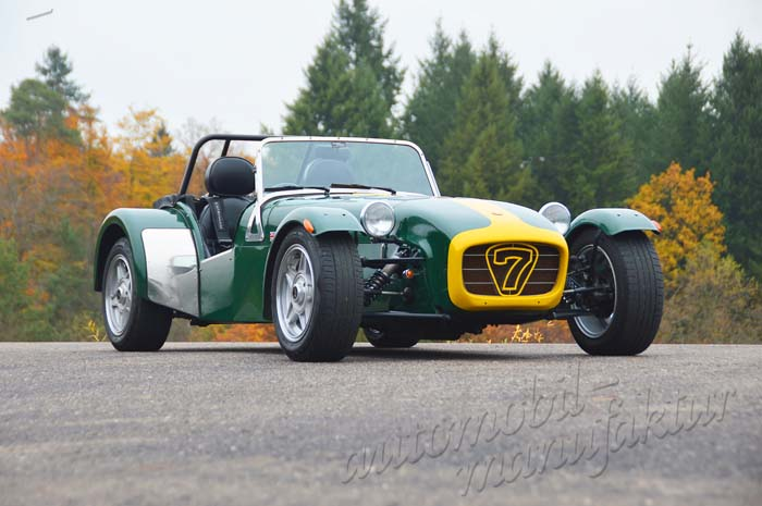 "Caterham Supersport-Special ""The Green Earl"""