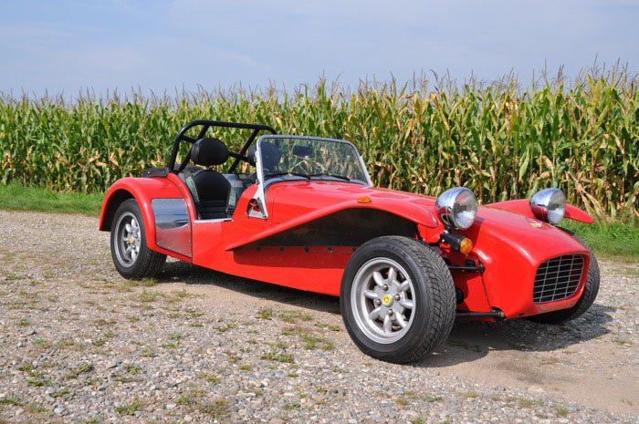 "Caterham ""The Red Eagle"""