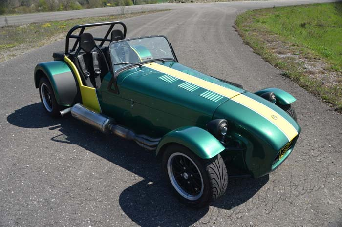 "Caterham Supersport ""R400 The Jumping Sprite"""