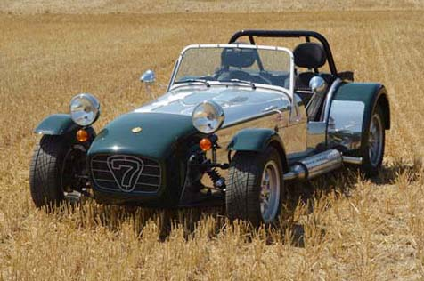 "Caterham Supersport ""The Leaping Lizard"""
