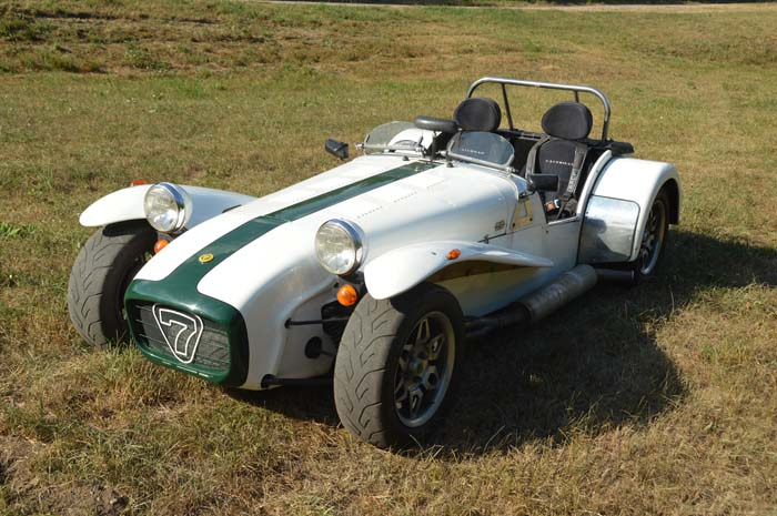 "Caterham Supersport ""The Running Rudolph"""
