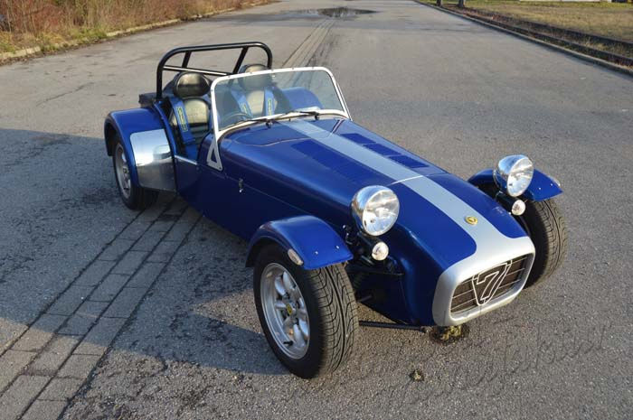 "Caterham 1.6 Roadsport ""The Blue Meerkat"""