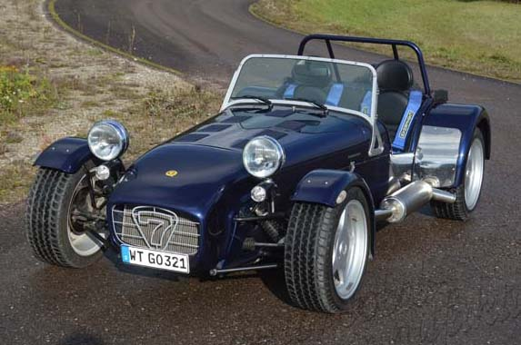 "Caterham Supersport R300 ""The Blue Shark"""