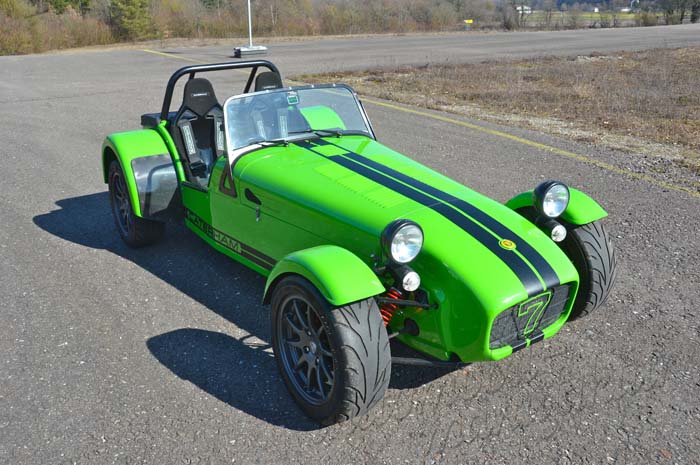 "Caterham Supersport ""The Green Arrow"""