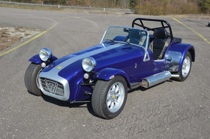 "Caterham Supersport ""The Blue Horseman"""