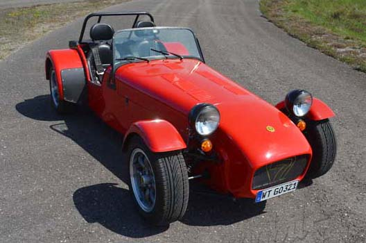 "Caterham Supersport ""The Red Corsair"""