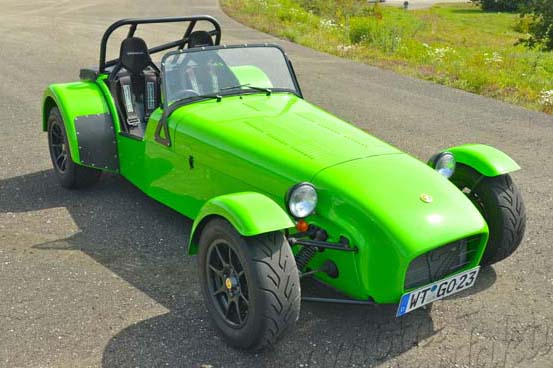 "Caterham Ultrasport ""The Swirling Snake"""
