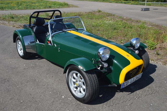 "Caterham Supersport ""The Whizzing Wizard"""