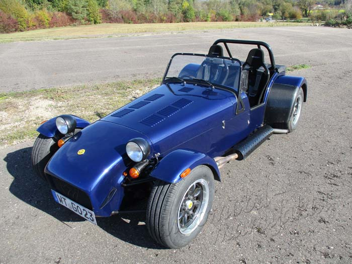 "Caterham Supersport ""The Blue Elephant"""