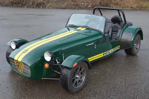 "Caterham Duratec ""The Green Hornet"""