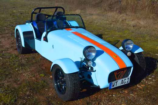 "Caterham Supersport ""Gulf-Racing Tribute"""