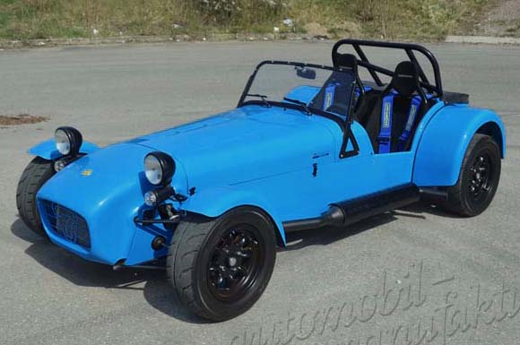 "Caterham R300 Euro Spec ""The Blue Meerkat"""