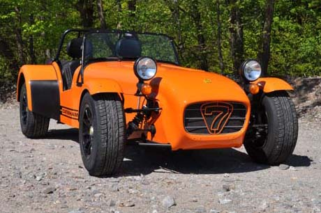 "Caterham Supersport ""The Hot Sidewinder"""
