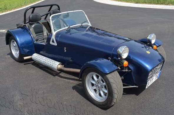 "Caterham R300 Euro ""The Running Ghost"""