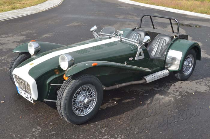 "Caterham Supersprint ""The Wriggling Iguana"""