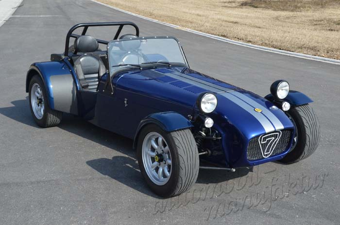 "Caterham R300 Euro ""The Gleaming Ghost"""