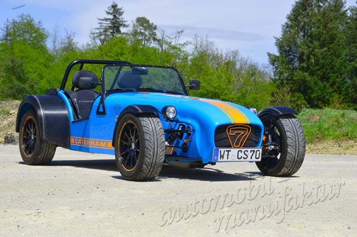 """Caterham XPower """"The Furious Parrot"""""""